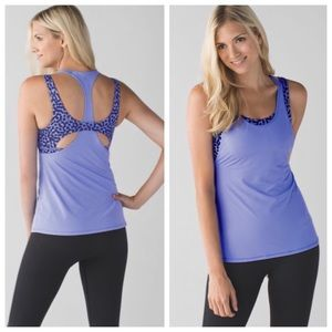 Lululemon All Sport Support Tank Lullaby/Ace 8